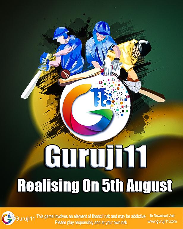 Guruji11Cricket Fantasy App  is India's biggest Fantasy Sports platform.